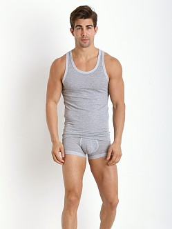 2xist Sweats Loose Fit Tank Top Earl Grey