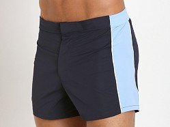 GrigioPerla Panel Swim Shorts Abisso