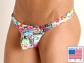 Model in passion fruit Rick Majors Low Rise Swim Thong