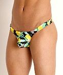 Rick Majors Low Rise Swim Thong Lemon Squeeze, view 3