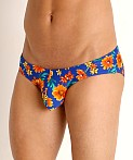 Rick Majors Low Rise Swim Brief Daisy Daze, view 3