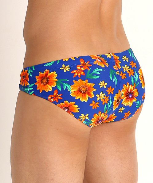 Rick Majors Low Rise Swim Brief Daisy Daze