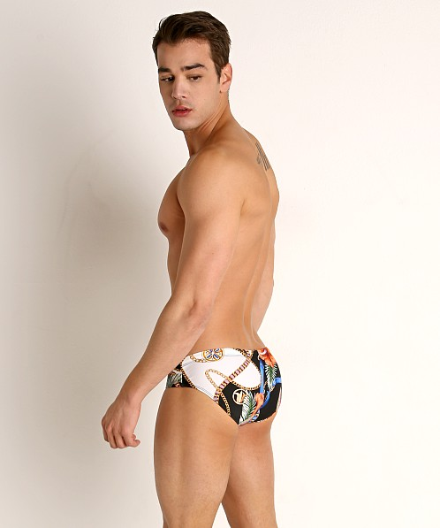 Rick Majors Low Rise Swim Brief Collars And Chains