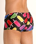 Rick Majors Low Rise Swim Trunk Creamsicle, view 4