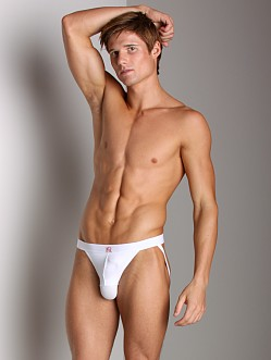 Balls in One Erector Jockstrap White