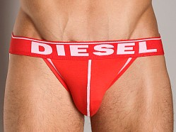 Diesel Fresh & Bright Jocky Jockstrap Red