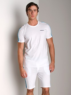Diesel Mark Crew Neck Shirt White