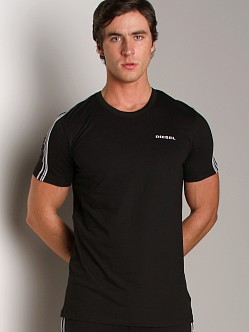 Diesel Mark Crew Neck Shirt Black