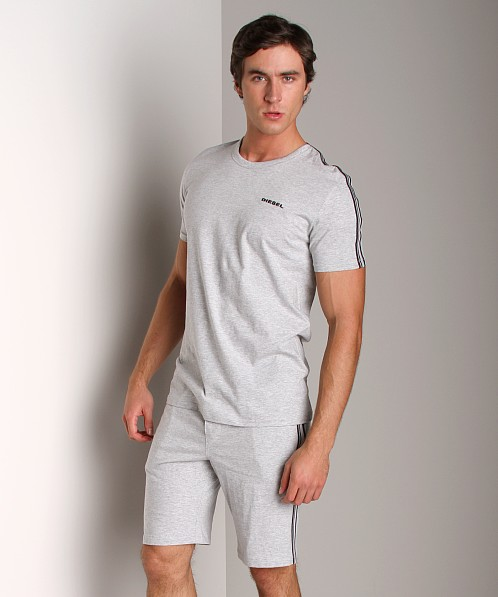 Diesel Mark Crew Neck Shirt Grey