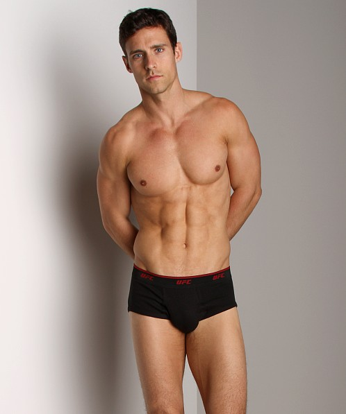 UFC Two-Pack Classic Fly Front Brief Black