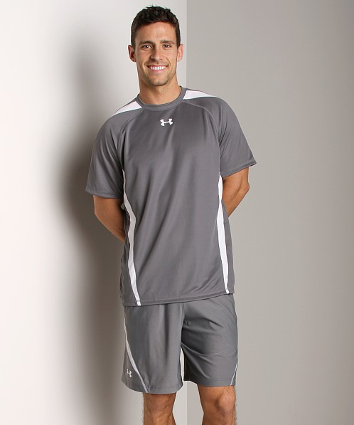 Under Armour Zone IV Shortsleeve T Graphite/White