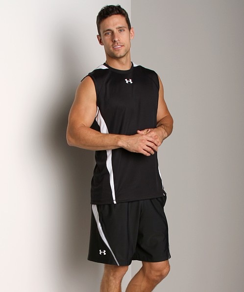 Under Armour Zone IV Sleeveless T Black/White