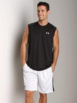 Under Armour UA Tech Sleeveless T Black/White