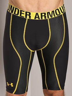 Under Armour Stretch Woven Compression Short Black/Taxi