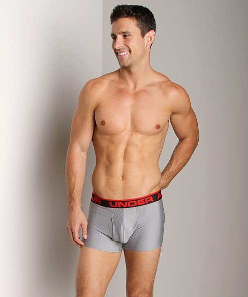"Under Armour Original 3"" Boxer Jock Grey Heather"