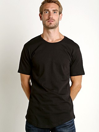 Complete the look: LASC Hipster Long T-Shirt Black