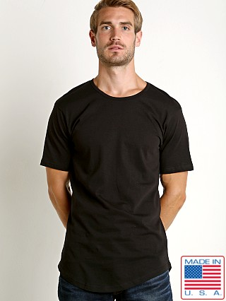 LASC Hipster Long T-Shirt Black
