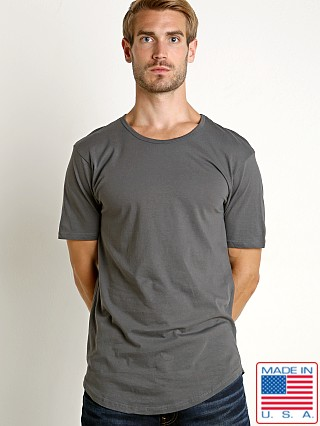 LASC Hipster Long T-Shirt Charcoal