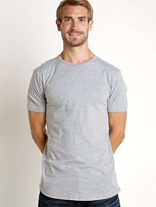Complete the look: LASC Hipster Long T-Shirt Heather Grey