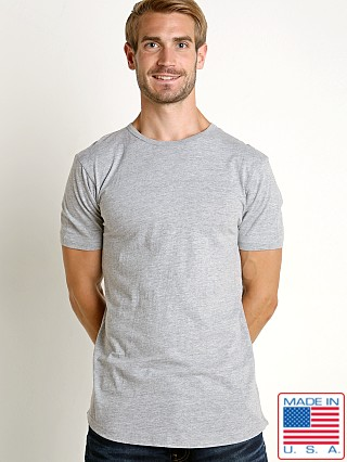 LASC Hipster Long T-Shirt Heather Grey
