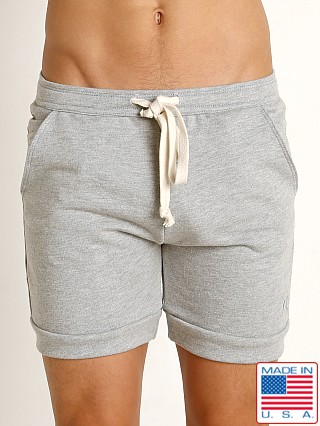 LASC Athletic Rugby Short Heather Grey