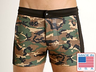 LASC Coaches Daddy Short Camouflage Print