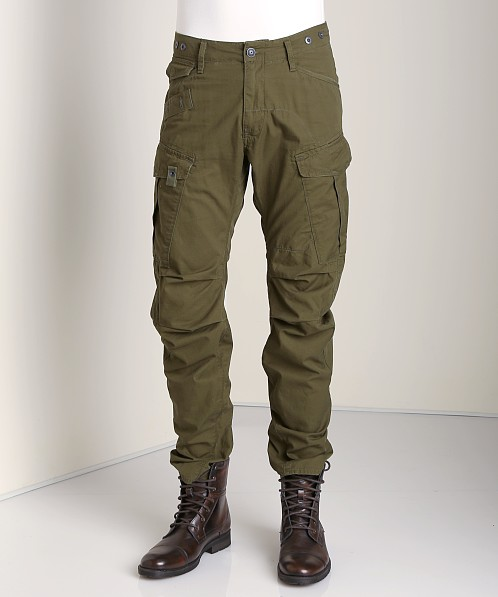 G-Star Rovic 3D Loose Tapered Cargo Pants Field Twill