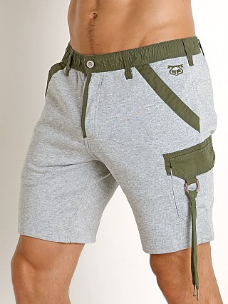 Nasty Pig Fusion Quad Short Heather Grey