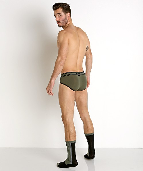 Nasty Pig Standard Issue Sock Green