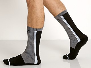 Nasty Pig Standard Issue Sock Grey