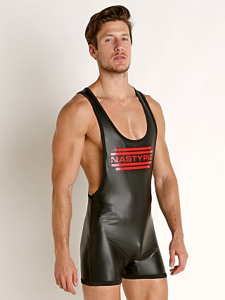 Nasty Pig Contrast Rubber Singlet Red