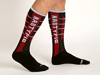 Nasty Pig Tension Socks Red