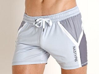 Nasty Pig Code Trunk Shorts Grey