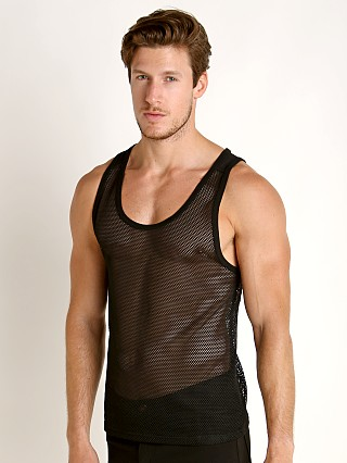 Nasty Pig Plexus Mesh Tank Top Black