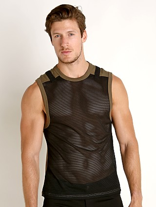 Nasty Pig Plexus Mesh Sleeveless Shirt Green