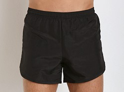 Soffe Navy PT Lined Nylon Short Black