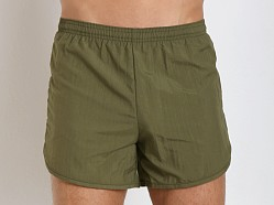 Soffe Navy PT Lined Nylon Short Olive Drab