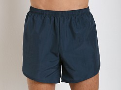 Soffe Navy PT Lined Nylon Short Navy