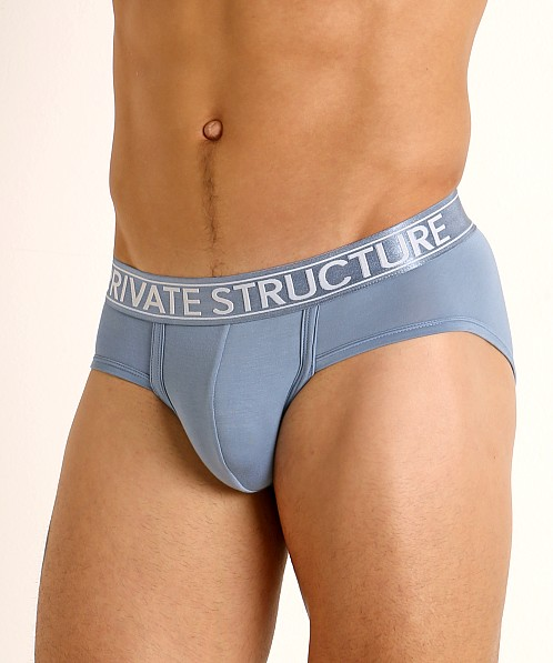 Private Structure Platinum Bamboo Brief Air Force Blue
