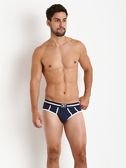 Cristiano Ronaldo CR7 Fashion Color Brief Navy/White