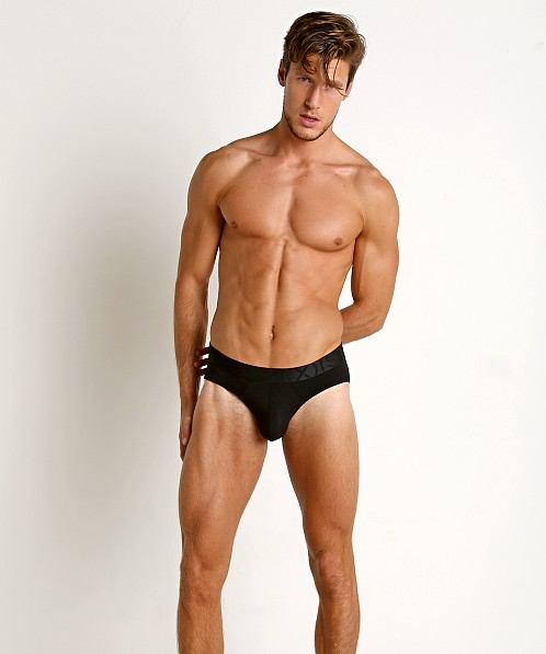 2xist Pima Flex No Show Brief Black