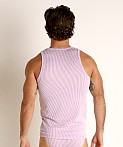 Rick Majors Two-Tone Rib Tank Top Purple, view 4