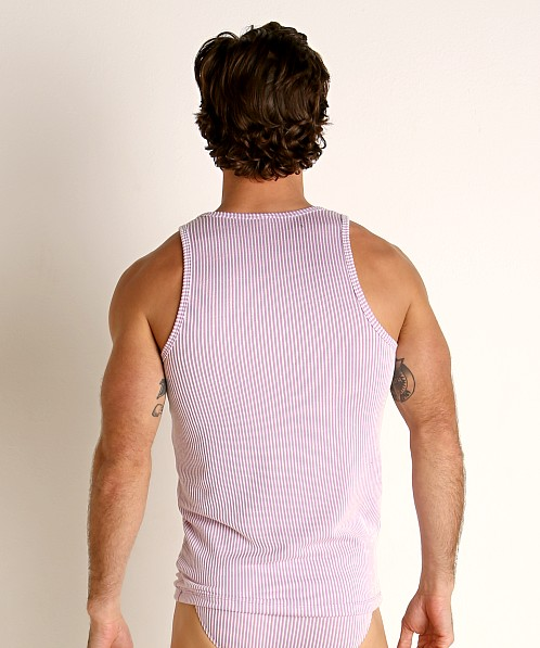 Rick Majors Two-Tone Rib Tank Top Purple
