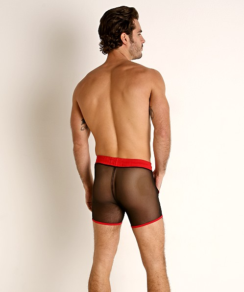 Go Softwear Hard Core Flexxx Mesh Sport Short Black/Red