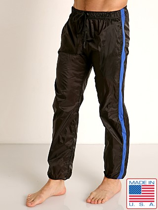 Model in black/blue Go Softwear Hard Core Flexxx Gym Pant