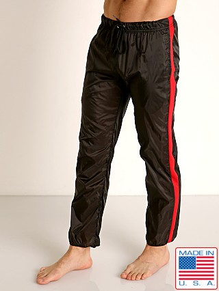 Model in black/red Go Softwear Hard Core Flexxx Gym Pant