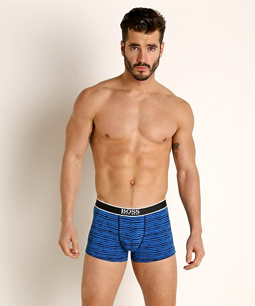 Hugo Boss 24 Print Trunk Blue