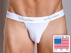 Activeman Signature Series Jockstrap White