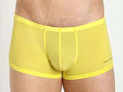 Private Structure Color Peel Nylon Spandex Trunk Blazing Yellow