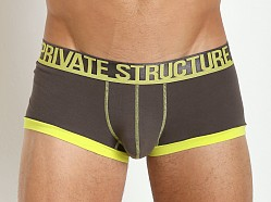 Private Structure Luminous Low Rise Trunk Grey/Sulphur